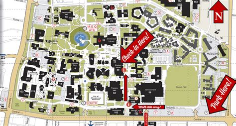 unm map getting here new student orientation the of new mexico
