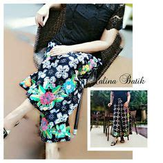 Celana Rikela Emboss poleng maxi skirt this high waist skirt makes your legs looks longer and the colours