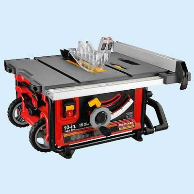Craftsman 10 Portable Table Saw by Portable Craftsman 21828 Tool Test Table Saws This