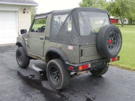 Suzuki Samurai For Sale In Ky Purchase Used 1988 5 Suzuki Samurai In Lawrenceburg