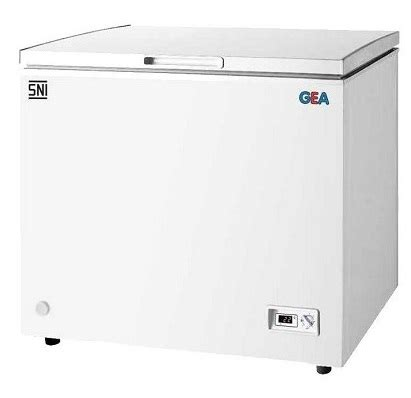 Freezer Daging Gea jual gea chest freezer ab 316 r murah bhinneka