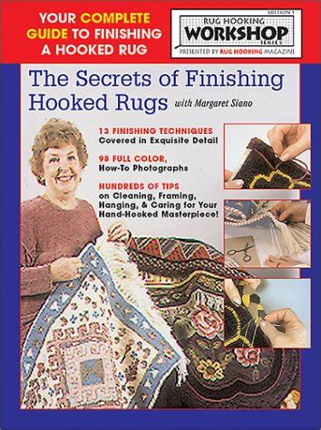 finishing a hooked rug readjaneread just launched on usa marketplace pulse