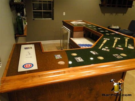 Home Bar Project Chicago Cubs Home Sports Bar Project Easy Home Bar Plans