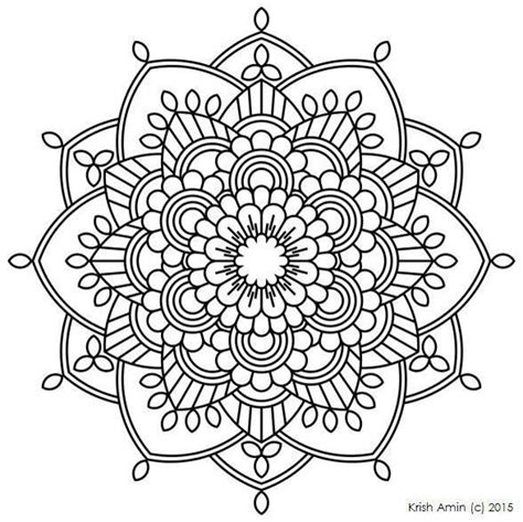 25 Best Ideas About Mandala Coloring Pages On