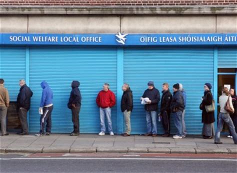 Welfare Office by Social Welfare Payments Delayed By One Day Affecting