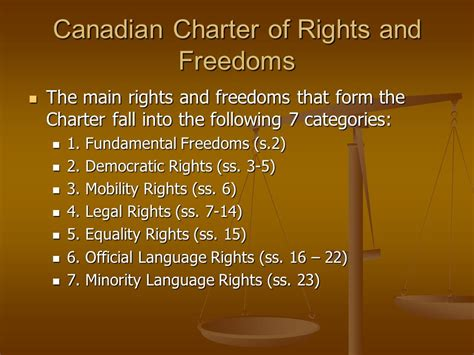 section 15 charter of rights and freedoms canadian charter of rights and freedoms ppt video online