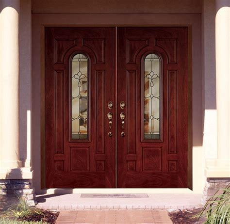 Feather River Door Fiberglass Entry Doors Mahogany Doubl Feather River Exterior Doors