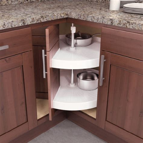 Lazy Susan Cabinet Door Vauth Sagel Door Mounted Piecut Lazy Susan For Corner Cabinets Kitchensource