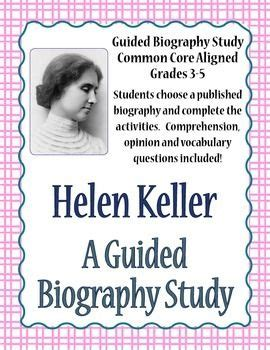 helen keller biography for students pinterest the world s catalog of ideas