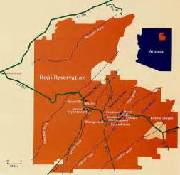 arizona reservation map earlyamericans hopi