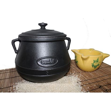 A Pot And A Cast Iron Alibi by Cast Iron Pots 2 5 O 10 Liters For Brothy Rice From Valencia