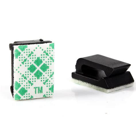 Cantelan Kabel Klip Kabel Cable Tie Mount Base Holder 10 Pcs plastic draad clip promotie winkel voor promoties plastic