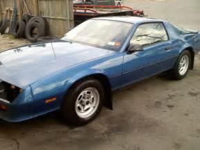 1987 chevrolet camaro base model 6cyl 33 000 original