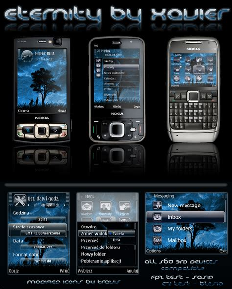 nokia themes deviantart eternity symbian theme by xavier themes on deviantart