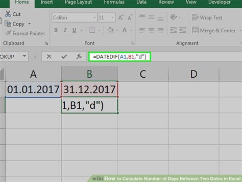 calculator number of days how to calculate number of days between two dates in excel