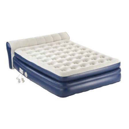 aerobed premier air mattress with headboard walmart