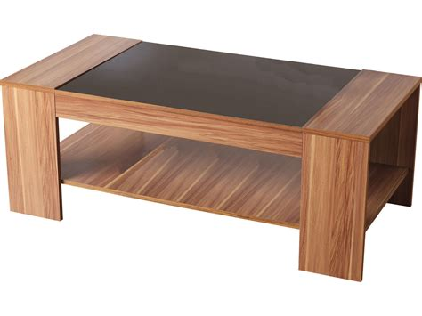 Black Gloss Walnut Veneer Coffee Table Hollywood By Walnut Veneer Coffee Table