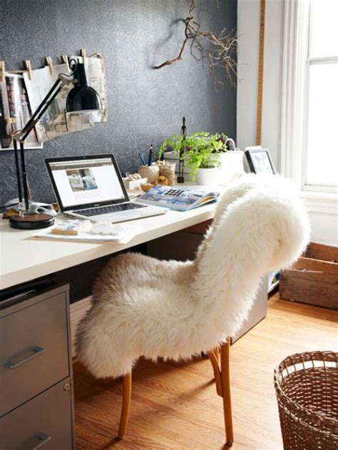 fuzzy desk chair for candice
