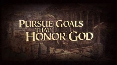 the church of pursuing god s goals for his church in a divided religious world books pursue goals that honor god on vimeo
