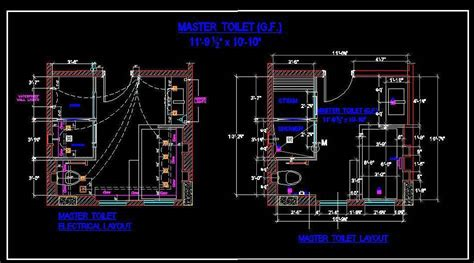 toilet electrical layout master bath layout and electrical plan n design