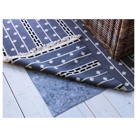 rug underlay ikea stopp filt rug underlay with anti slip 165x235 cm ikea