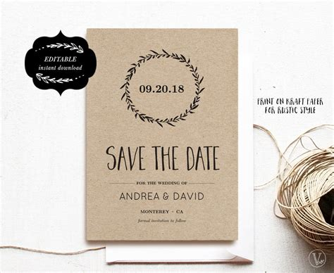 diy save the date magnets template save the date template printable save the date card diy