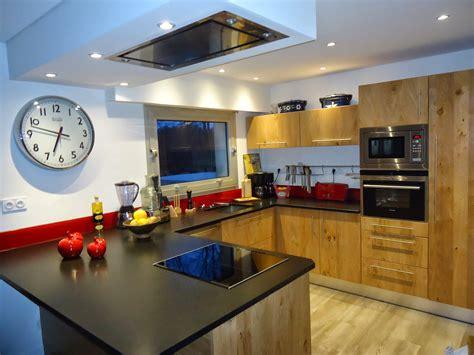 deco mur cuisine moderne michel le coz agencement d 233 coration cuisine moderne bois