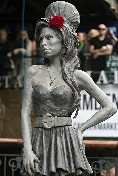 Amycoll Ps3 Unveiled In China by Winehouse Statue Unveiled In Artnet News