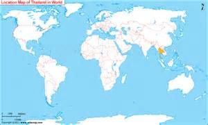 Thailand World Map Location by Thailand Map World Images