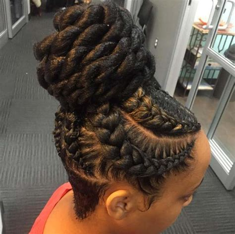 big goddess braids in bun 15 braids hairstyles for an ultimate goddess look