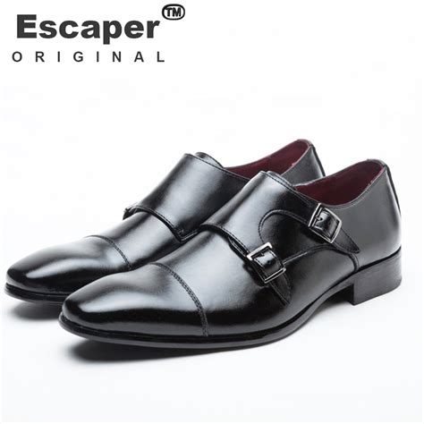 mens casual shoes luxury genuine leather flats business