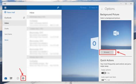format email background outlook how to change outlook mail app background picture in