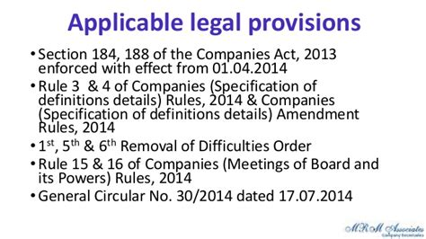 section 76 of the companies act related party transactions by makarand lele