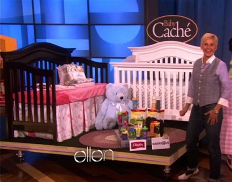 Cribs The Show by Degeneres Mothers Day Show Baby Cache Cribs