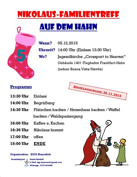 Muster Einladung Nikolausfeier Nikolausfeier Einladung Vorlagen