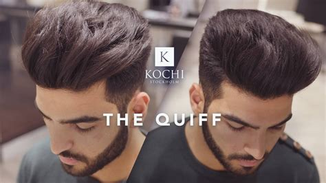 the quiff hairstyle big volume quiff mens haircut and hairstyle 2017