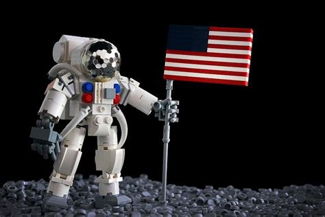 Lego Astronot one small step astronauts and lego