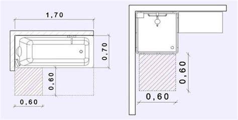 docce dimensioni bagno e spazi minimi
