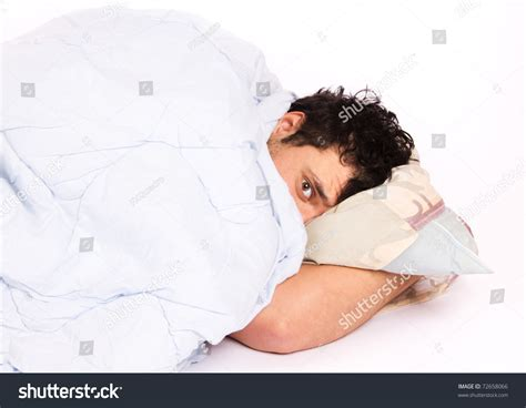 so much for sleeping in by b man100 on deviantart young man bed trying sleep stock photo 72658066 shutterstock