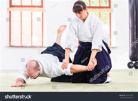 training women in the martial arts a special journey ebook man woman fighting aikido training martial stock photo