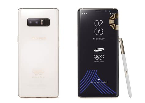 Samsung Note 8 Experience this limited edition pyeongchang winter olympic galaxy note 8 is gorgeous and you can t