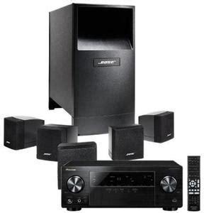 bose acoustimass  speaker system pioneer vsx av