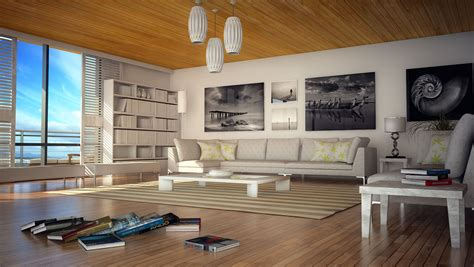 beach home interior design cgarchitect professional 3d architectural visualization