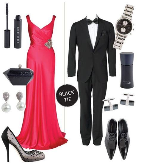 Tips To Dress For A Formal Event by Black Tie Attire Creative Black Tie And Black Tie On