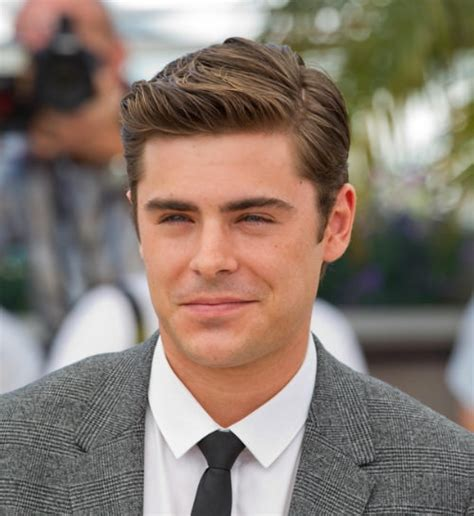 2015 center part side part zac