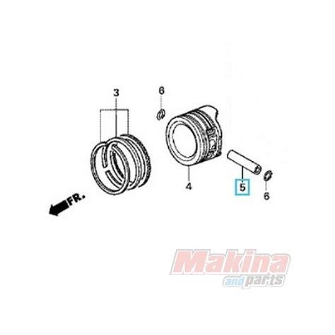 Piston Kit Honda Grand Supra X Ori Ahm Os Std 100 13111087000 piston pin honda anf 125 innova