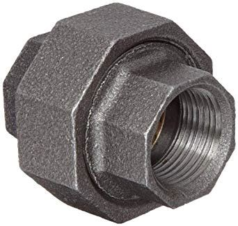 Anvil Plumbing - anvil 8700163507 malleable iron pipe fitting union 1