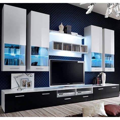 soggiorno bianco  nero idee  design  la casa