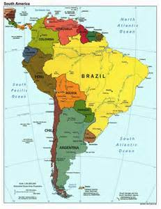 south america globalization a mini lecture introduction to the continent of