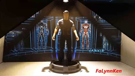 acghk hot toys iron man holographic hall armor